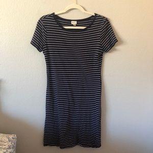 Navy T-shirt Dress